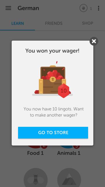 Streak Wager Reward