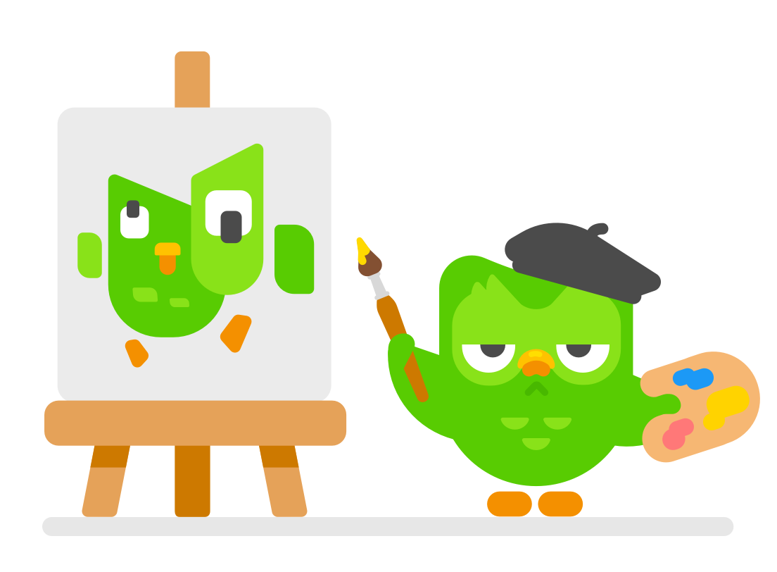 Shape language: Duolingo's art style