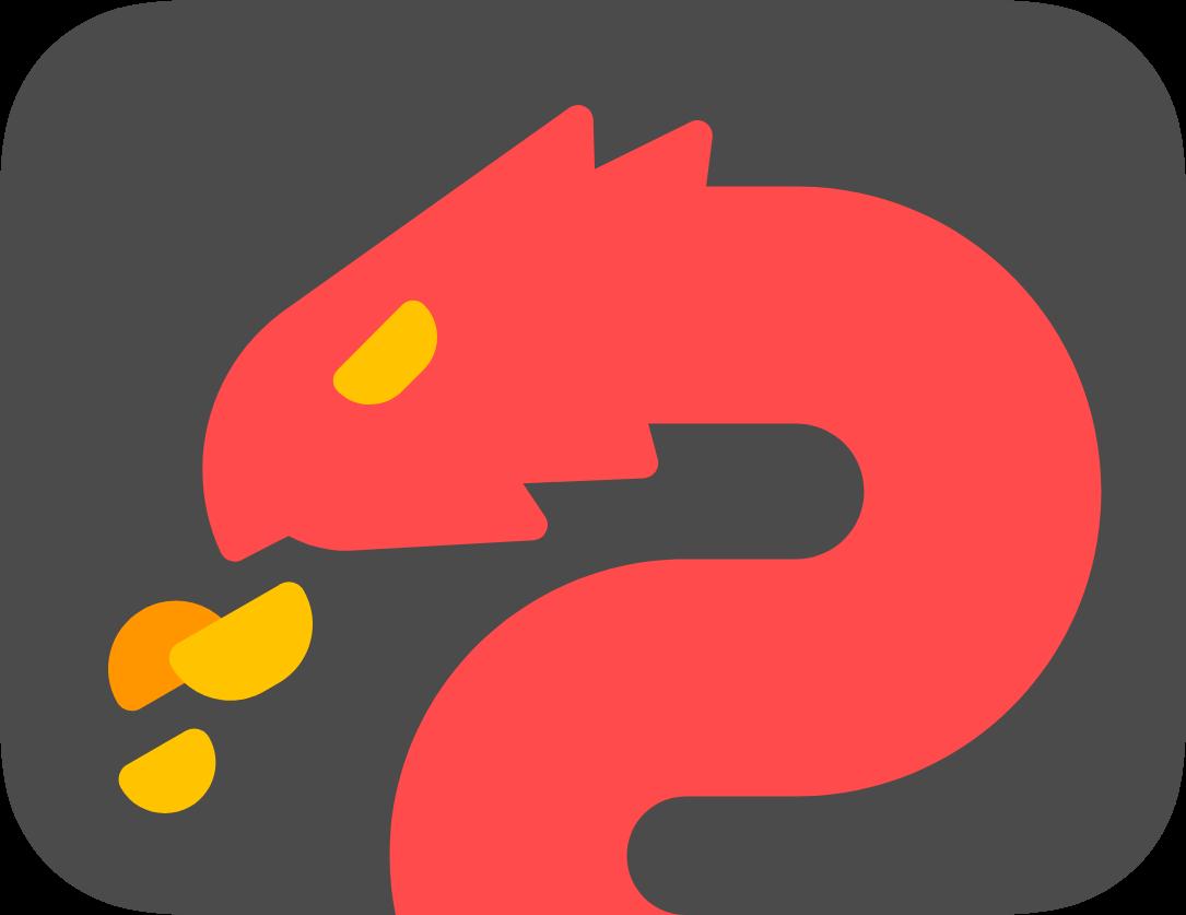 High Valyrian flag with dragon