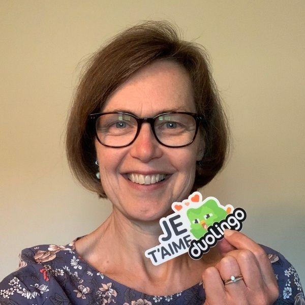 Sharon Wilkinson, Senior Educational Content Developer at Duolingo